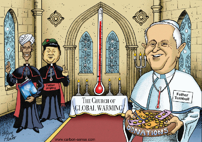 church-global-warming